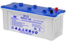 JIS Standard Dry Charged Car Battery SCD 12V 120AH