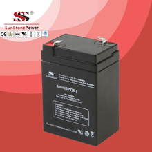 SPT Series 6V2AH Sealed Maintenance Free VRLA/SLA AGM Battery for UPS