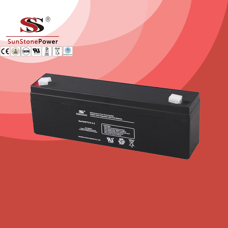 SPT Series 12V2.2AH Sealed Maintenance Free VRLA/SLA AGM Battery for UPS