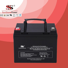 Deep Cycle 12V33AH Gel Lead Acid Solar Battery