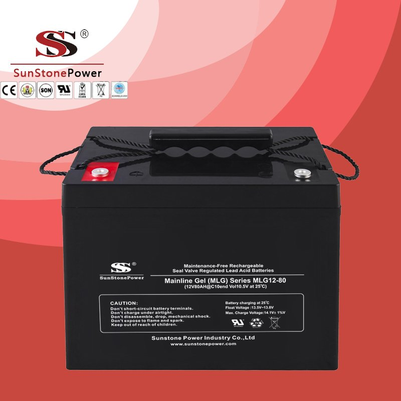 Deep Cycle 12V 80AH Gel Lead Acid Solar Battery