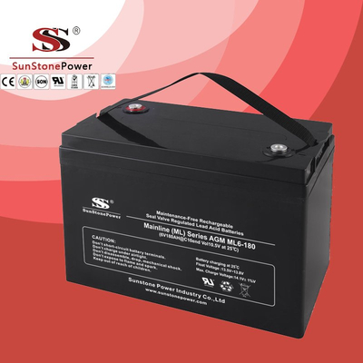 Solar Battery Deep Cycle Battery 6v 200ah AGM Lead Acid Battery