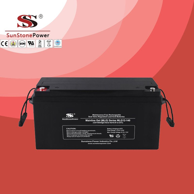 Deep Cycle 12V 140AH Gel Lead Acid Solar Battery