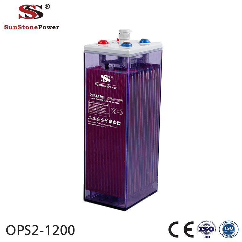 Sunstone Power OPzS 2V 1200AH Rechargeable Lead Acid Solar Battery