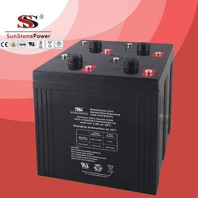 UC series 2V 1500AH Solar battery Deep cycle battery Solar Control system Battery