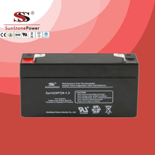 SPT Series 6V1.3AH Sealed Maintenance Free VRLA/SLA AGM Battery for UPS