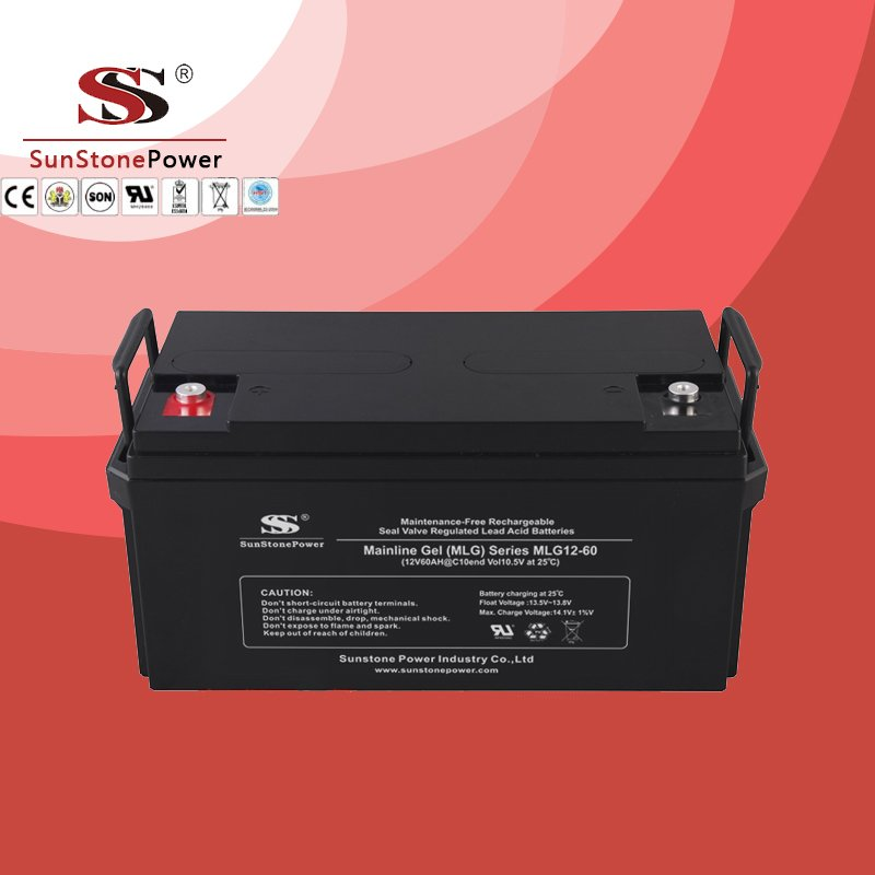 Deep Cycle 12V60AH Gel Lead Acid Solar Battery