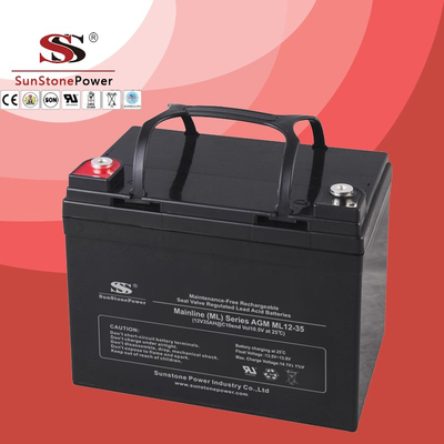 Solar Battery Deep Cycle Battery 12v 35ah AGM Lead Acid Battery