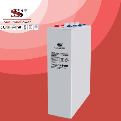 OPzV Battery 2V2500ah Long Life Deep Cycle Tubular Gel Solar Battery