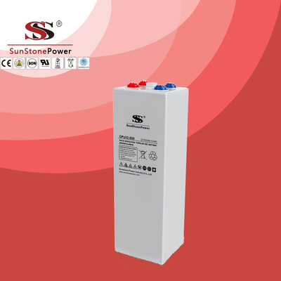 OPzV Battery 2V800ah Long Life Deep Cycle Tubular Gel Solar Battery