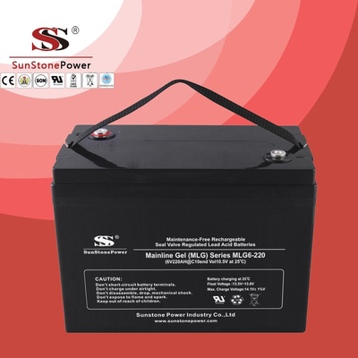 Deep Cycle 6V220AH Gel Lead Acid Solar Battery