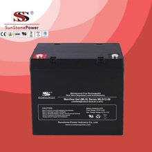 Deep Cycle 12V50AH Gel Lead Acid Solar Battery