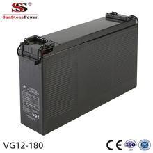 Sunstone Power 12V 180AH Deep cycle Telecom AGM battery
